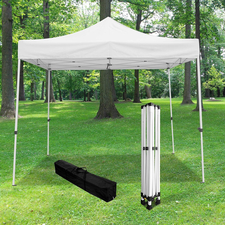 Skylantern - Cenador plegable de jardín (3 x 3 m, 520D (320 g/m2), calidad profesional, cenador plegable e impermeable, ideal para recepción al aire libre: Amazon.es: Jardín