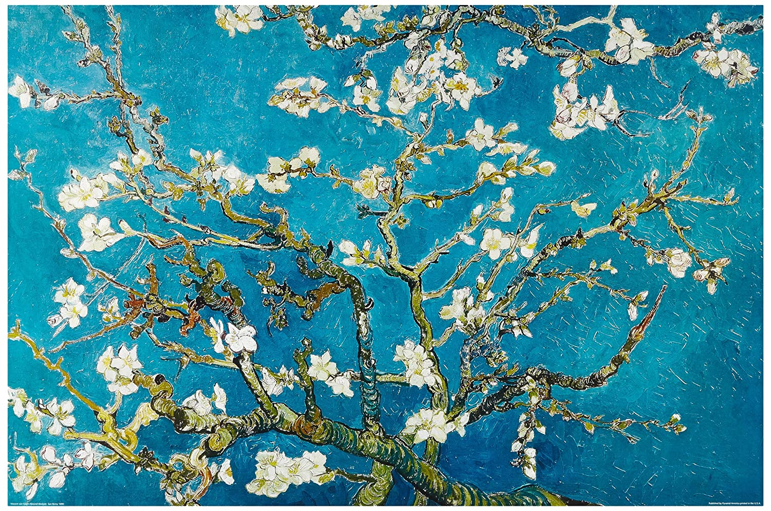 Amazon.de: 1art1 48105 Vincent Van Gogh - Mandelblüte, Saint Rémy ...