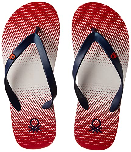 cd116d81e901f7 United Colors of Benetton Men s Red Flip-Flops - 8 UK India (42 EU)  Buy  Online at Low Prices in India - Amazon.in