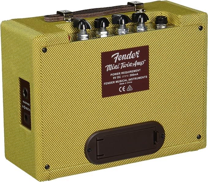 Fender Mini Twin Amp - face arrière