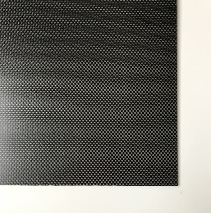 env 2100/x 1050/mm 0,5/mm Cf Plaque de /époxy HT Carbon Plaque//carbone fibre de carbone Format