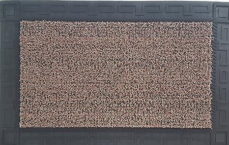 Grassworx 10376468 Omega Door Mat 24\u0026quot; x 36\u0026quot; Sandbar & Amazon.com : Grassworx 10376468 Omega Door Mat 24\
