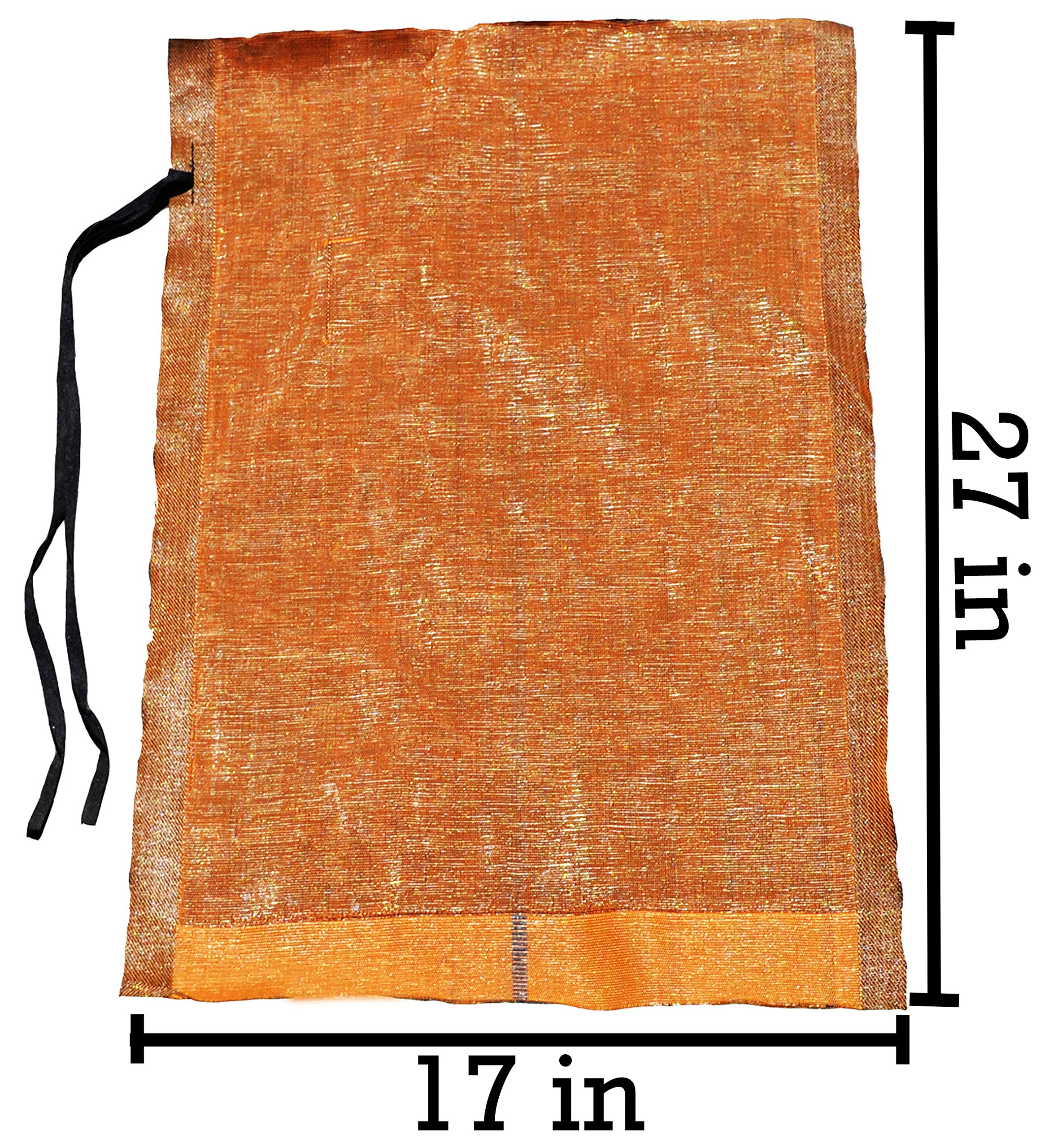 Sandbaggy - 17'' x 27'' Long-Lasting Sandbags - Brown Color - Lasts 1-2 Yrs - Monofilament (Pack of 100) by Sandbaggy (Image #2)