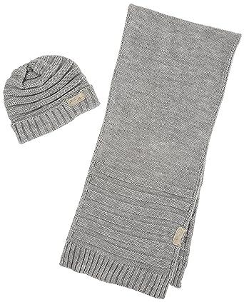 24818e825f81 Diesel - - Homme - Coffret bonnet écharpe gris Jingle pour homme - TU