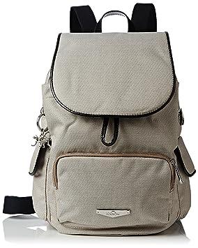 Kipling Womens City Pack S Kc Backpack Woven Cream  Amazon.co.uk  Luggage f6fcbff183
