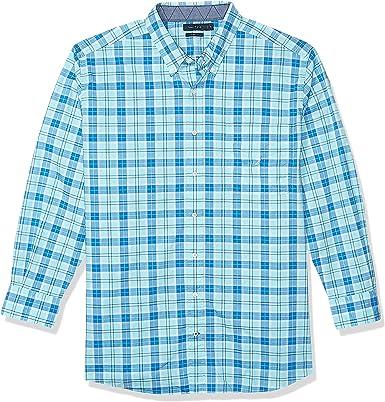 Nautica Big & Tall Camisa Estampada con Botones para Hombre: Amazon.es: Ropa y accesorios