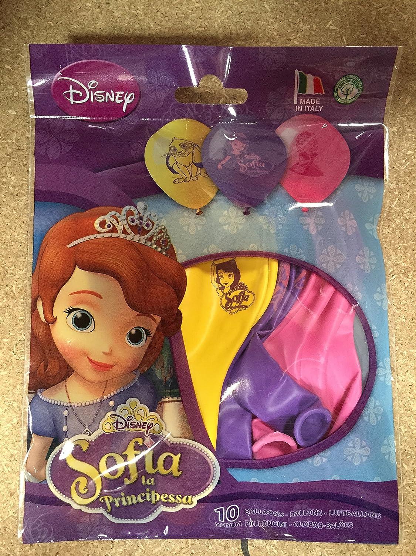 sans marque 10 Ballons Gonflables Princesse Sofia Disney
