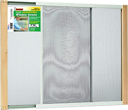 Marvin AWS1025 Adjustable Sturdy Window Screen 10 In x 15-25 In