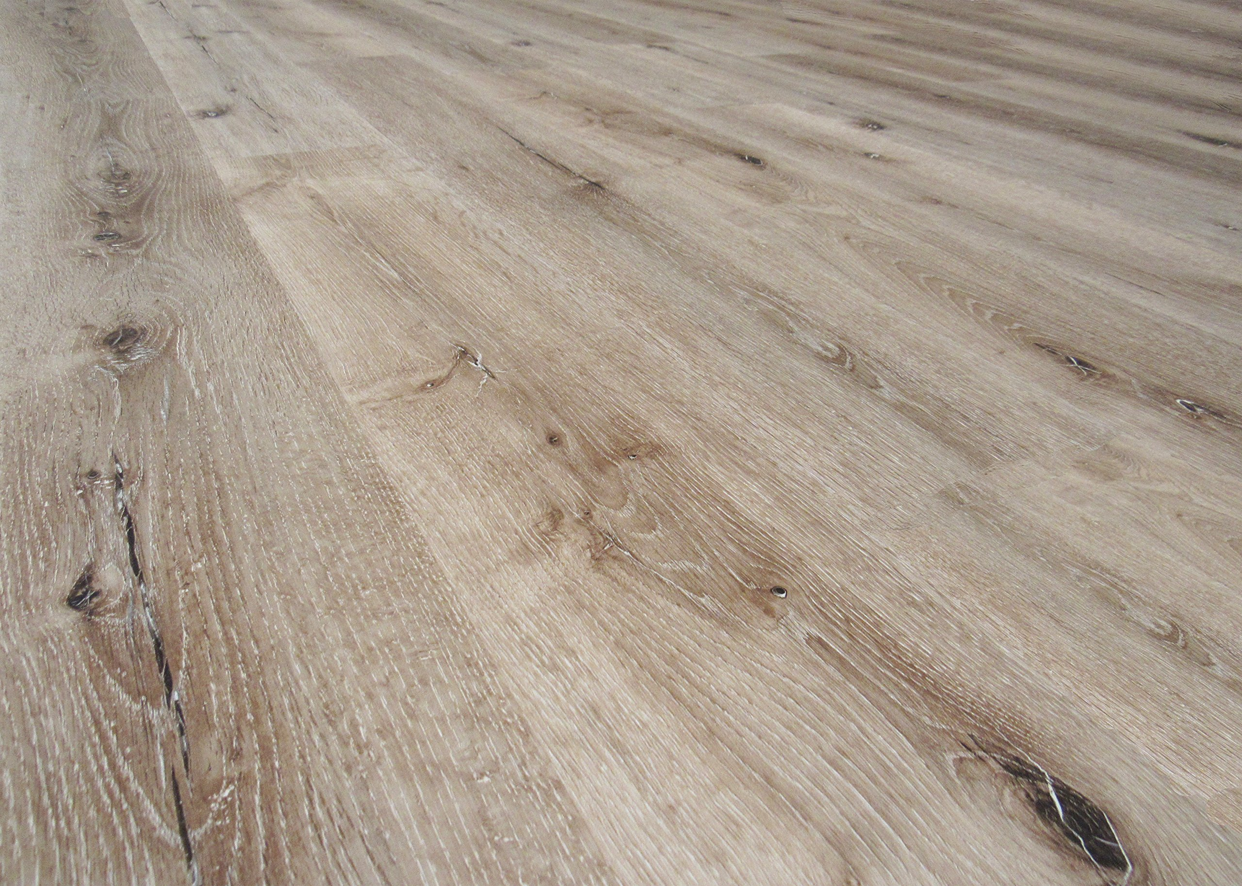 DriCore Waterproof WPC Engineered Flooring 47.64 in x 6.85 in x 6.6mm (40.79 Square Feet, Arctic Oak)