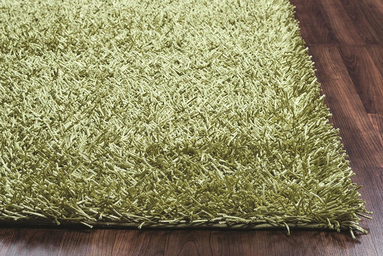 Kempton polyester area rug burgundy merlot colored 3 x3 area rugs - Amazon Com Riz Kidz Kempton Shag Rug Lime 3 6 X 5 6 Kitchen Dining