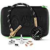 Alien 4x4 Rapid Air Tire Deflator Offroad Pressure Gauge 0-75psi - Accurate & Fast Air Down Tool - Custom Foam Case + Extra Valve Cores - Quickly Deflate Jeep, Truck, SxS, ATV, RV