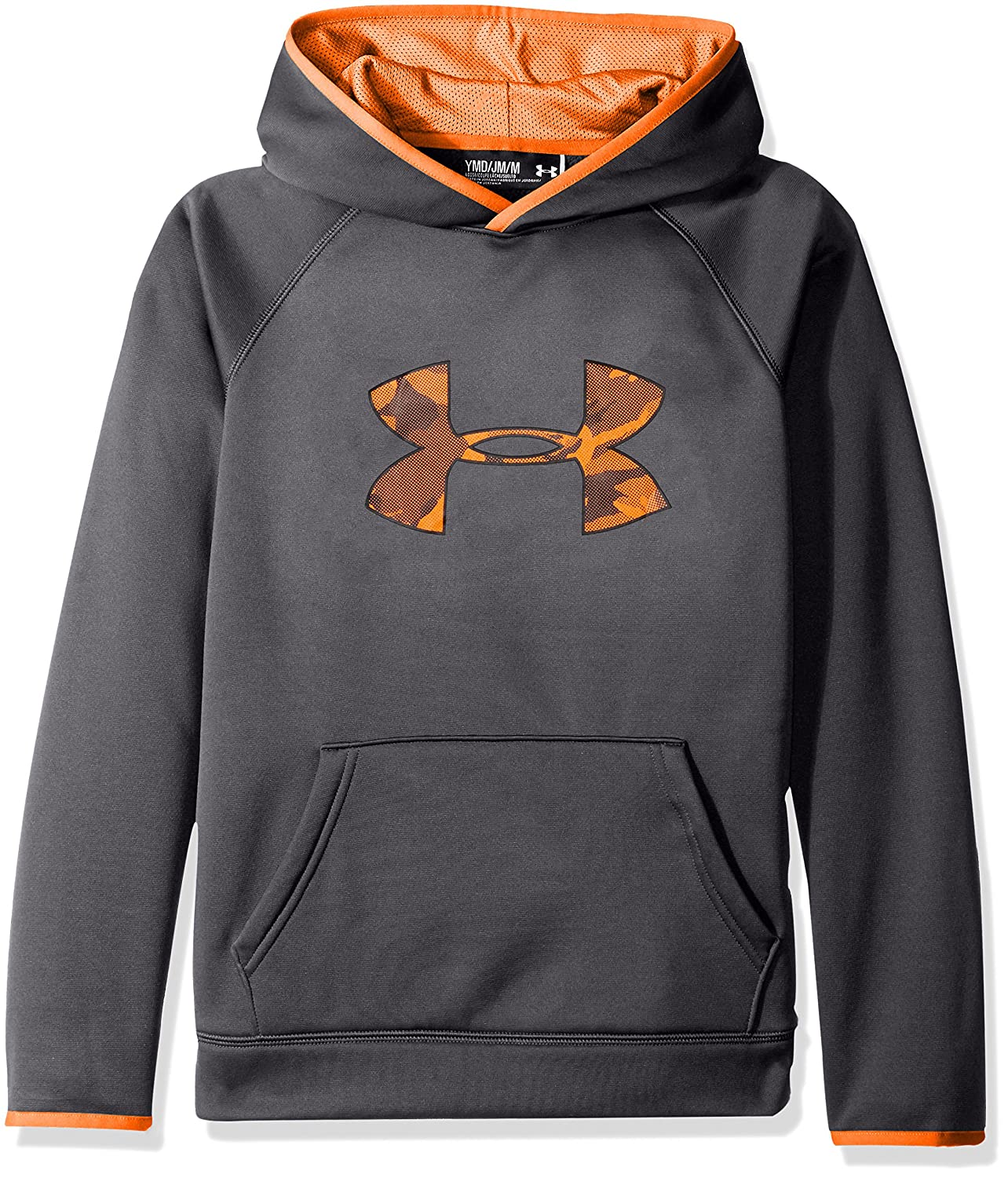 aaad422d8 Under Armour Boys' Storm Armour Fleece Highlight Big Logo Hoodie Under  Armour Apparel 1281073 larger image