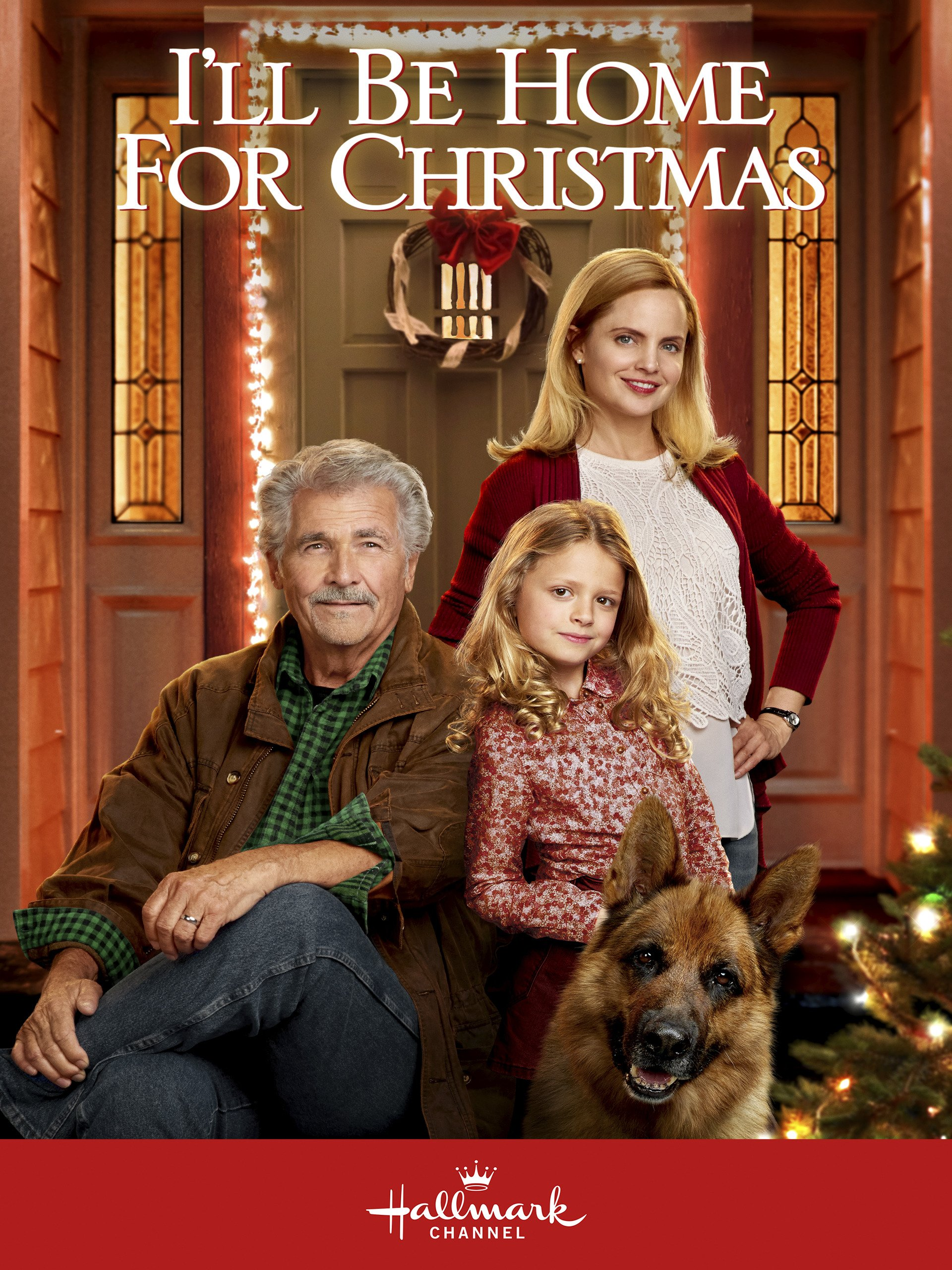 Amazon.com: I\'ll Be Home for Christmas: James Brolin, Mena Suvari ...