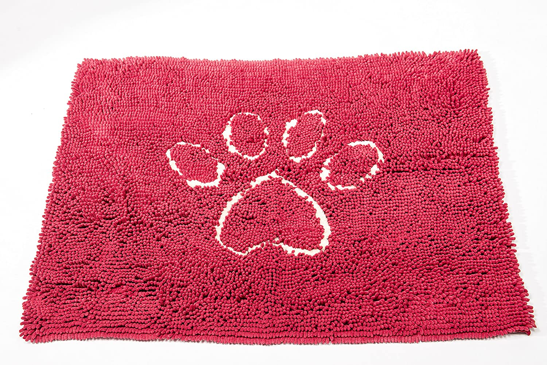 Large Dog Gone Smart Dirty Dog Doormat, Large, Maroon