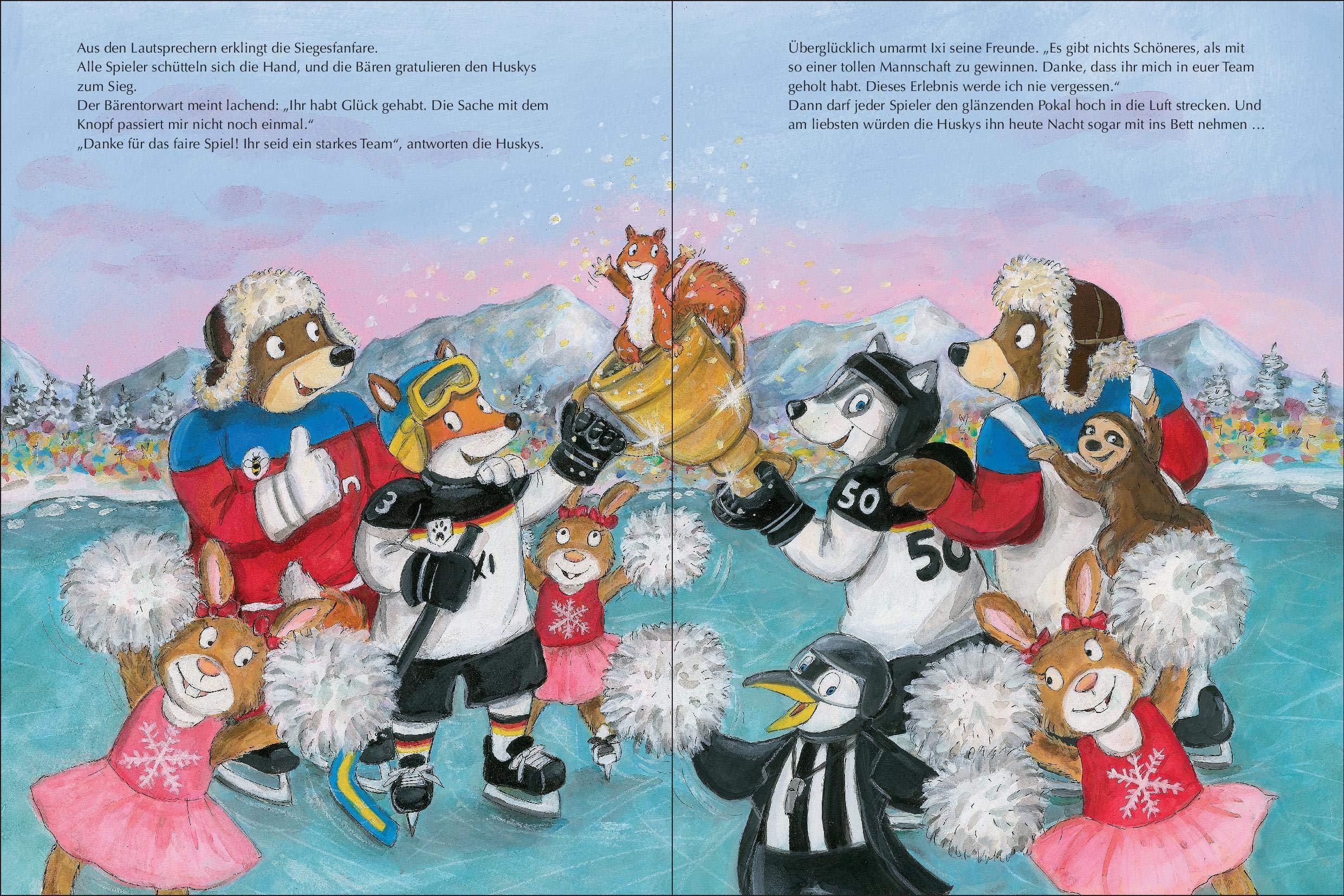 Ixi und die coolen Huskys: Amazon.de: Felix Neureuther, Christine ...
