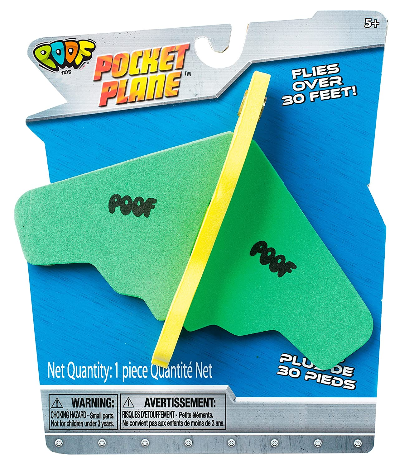 Amazon.com: POOF Flying Pocket Plane: Toys & Games