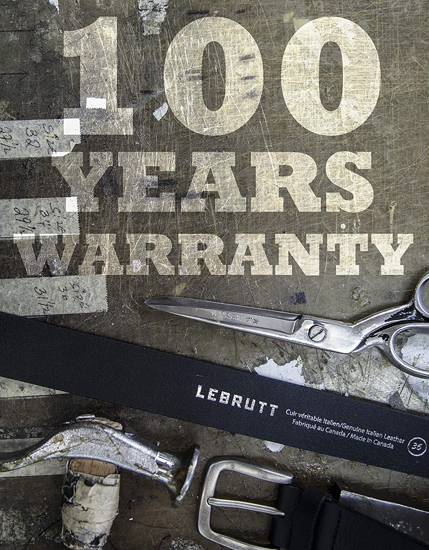Lebrutt Genuine Mens Leather Belt Casual Jeans Belt for Men