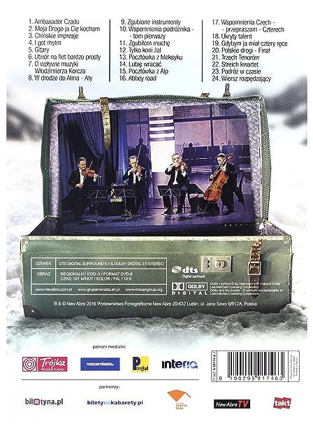 Grupa Mo Carta Ale Czad Czyli Podrălĺźe Grupy Mocarta Dvd