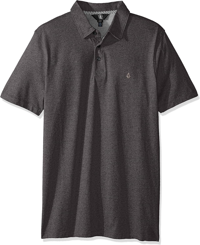 Volcom Men's Wowzer Modern Fit Cotton Polo Shirt