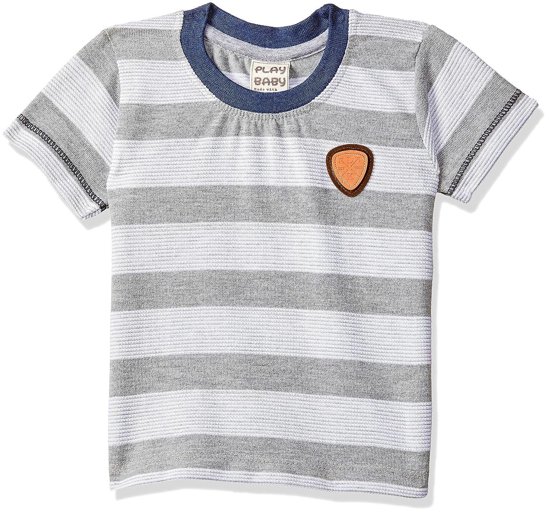 Little Kangaroos Baby-Boy's Regular Fit T-Shirt