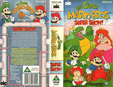 The Super Mario Brothers Super Show Vhs Amazon Co Uk Video