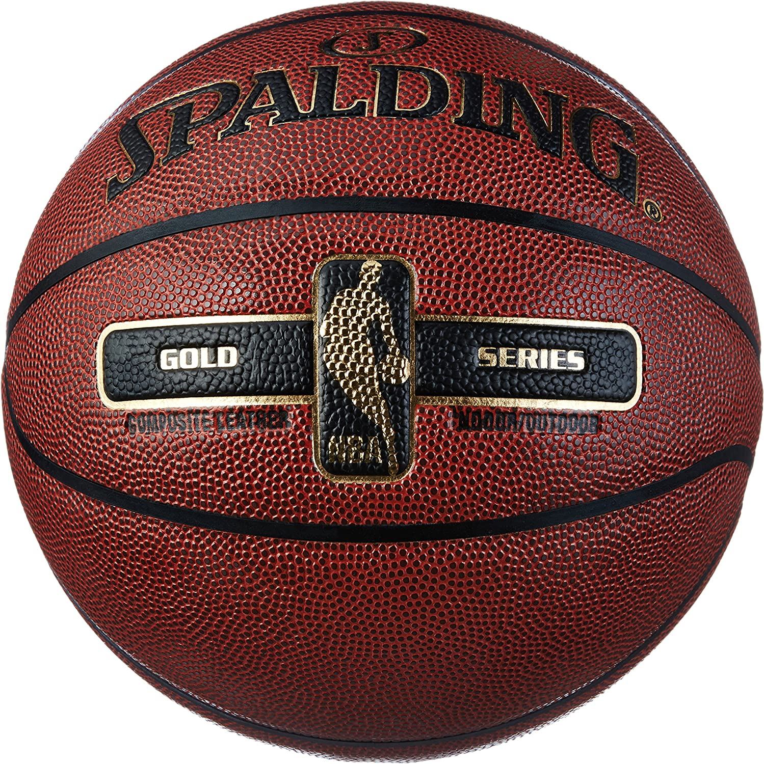 Spalding NBA Gold Ball Balón de Baloncesto, Unisex Adulto: Amazon ...