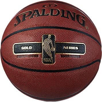 Spalding NBA Gold Ball Balón de Baloncesto, Unisex Adulto: Amazon ...