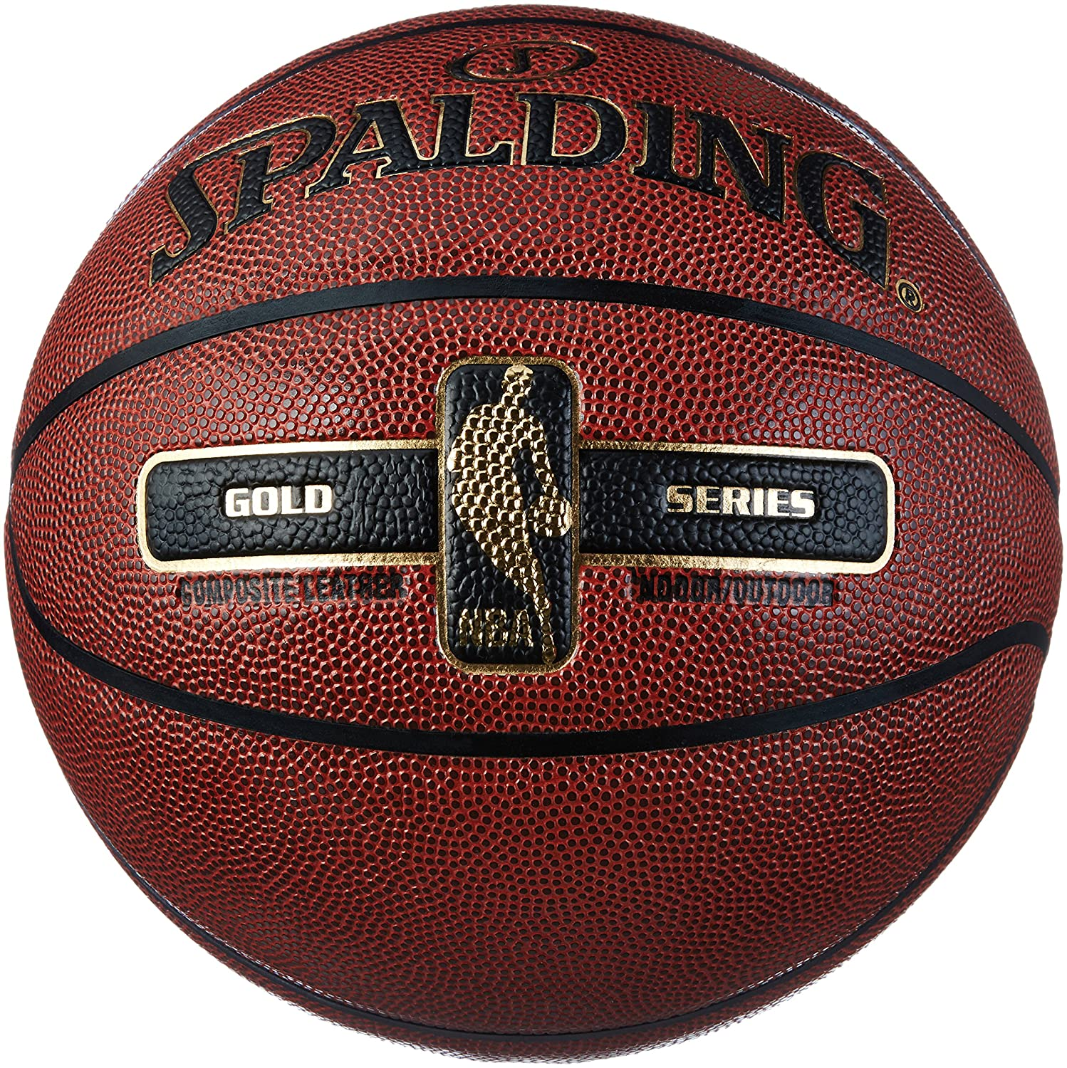 Spalding NBA Gold Ballon de Basket Mixte