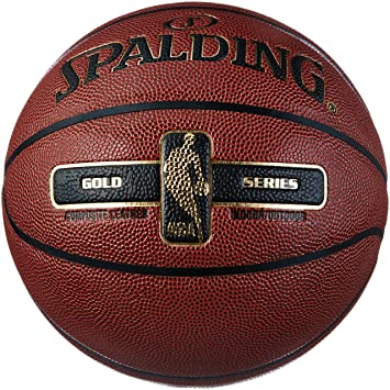 Spalding NBA Gold Basketball Ball  Amazon.co.uk  Sports   Outdoors c9c3af063