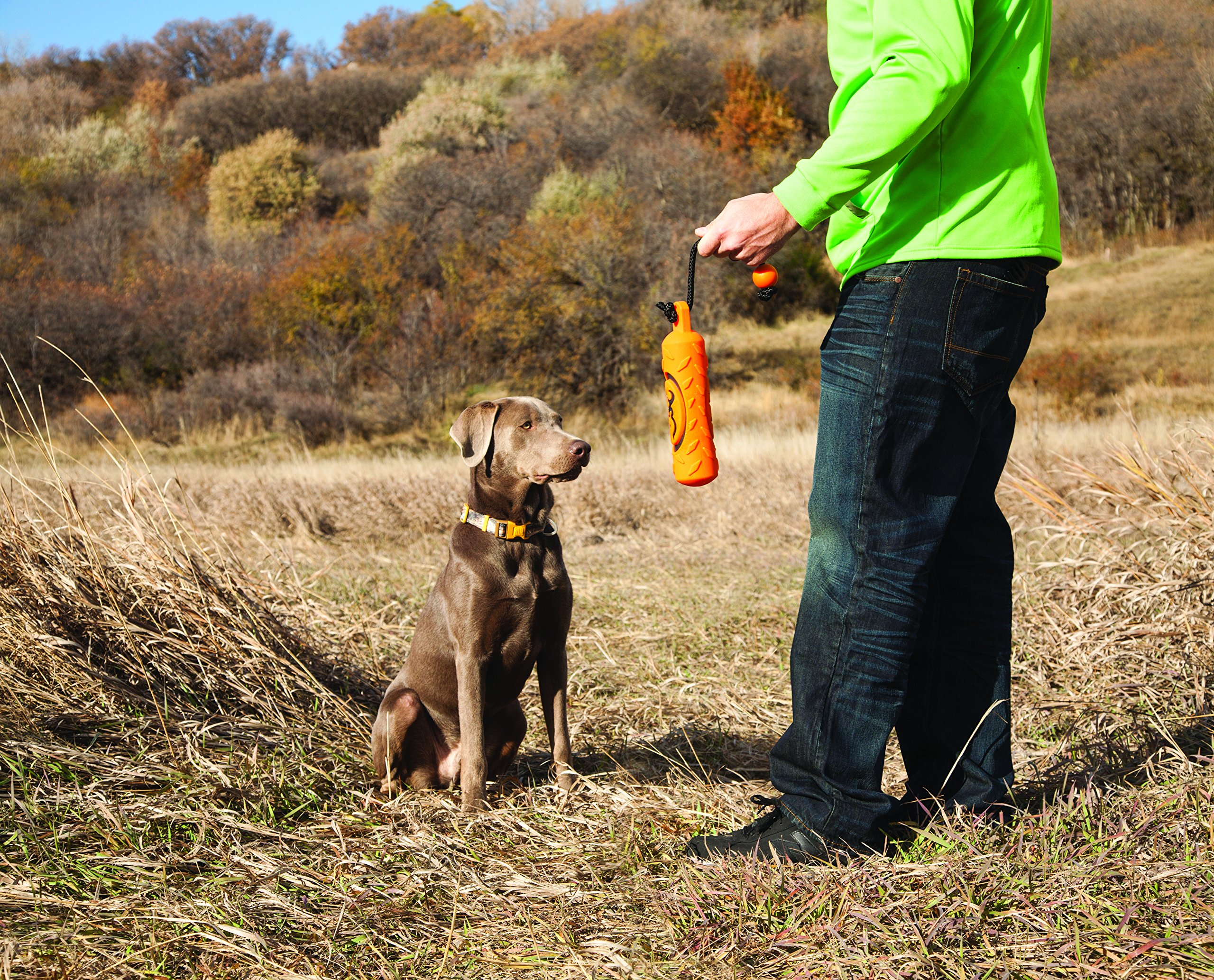 Browning Vinyl Training Dummy Hunting Dog Training Dummy, Vinyl, Orange, Large