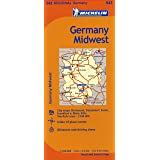 Germany Midwest Map 543 (Maps/Regional (Michelin))