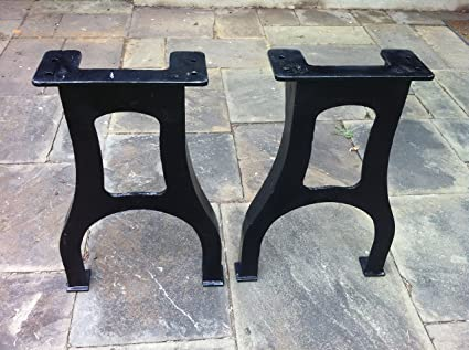Superbe New 30.5u0026quot; Tall Cast Iron Table Legs   Industrial Table Base