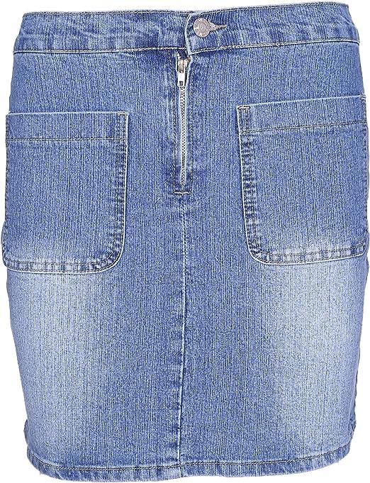 Lets Shop Shop Mini Falda para Mujer con una línea de Pantalones ...