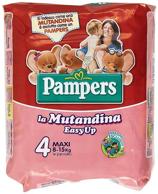 22 opinioni per Pampers Easy Up in Mutandina Pannolini, Taglia 4 (8-15 kg), 16 Pezzi