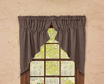Park Designs Country Home Lined Gathered Swag 72X36