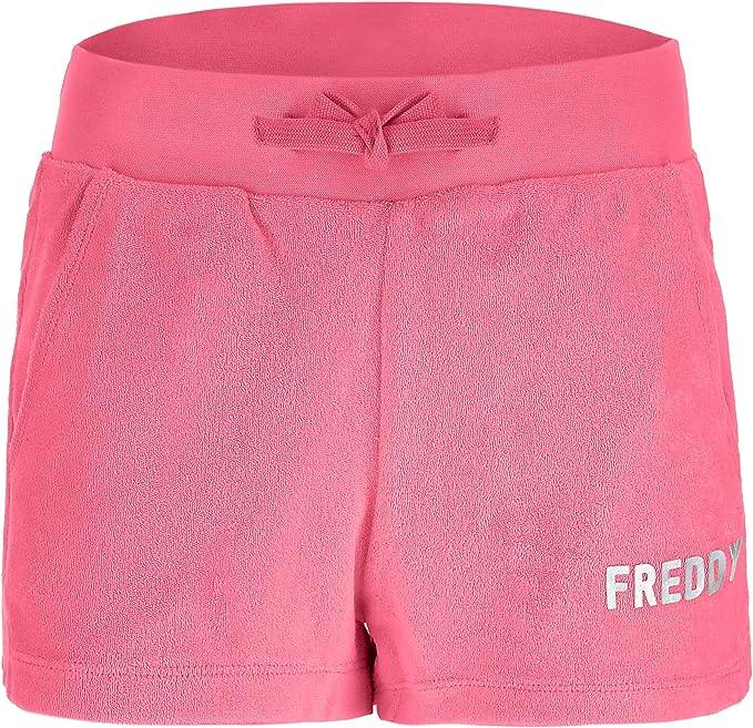 Freddy Shorts de Mujer de algodón y poliéster con Efecto Esponjoso ...