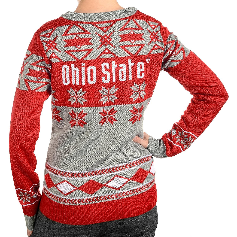 Ohio State Womens Big Logo V-Neck Sweater Medium