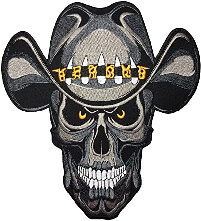 60348b10bf1cb  Large Size  Papapatch Cowboy Hat Skull Dead Ghost Zombie Death Biker Rider  Motorcycle Jacket