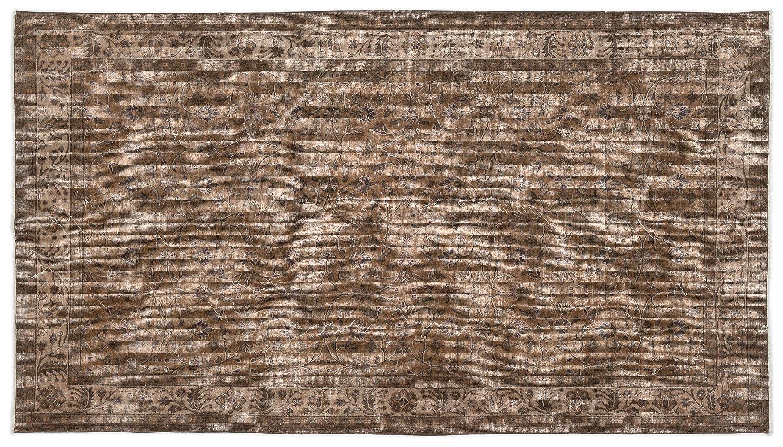 Bespoky ビンテージ 手織 ラグ 褐色 ミディアムサイズ 164 X 288 Cm B07HL34L8N