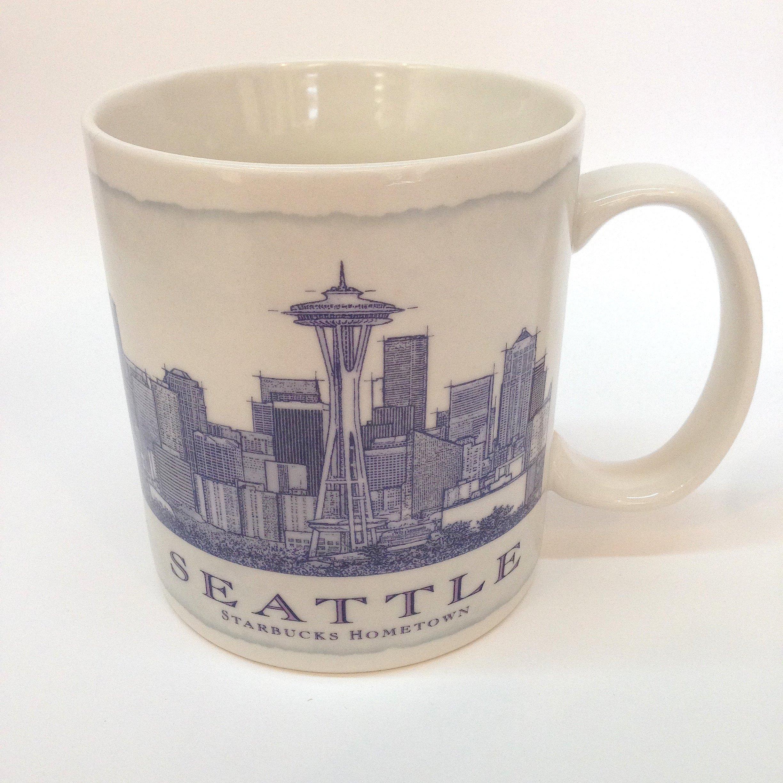 Starbucks Collectible Seattle Coffee Mug from Starbucks Hometown - 18 oz.