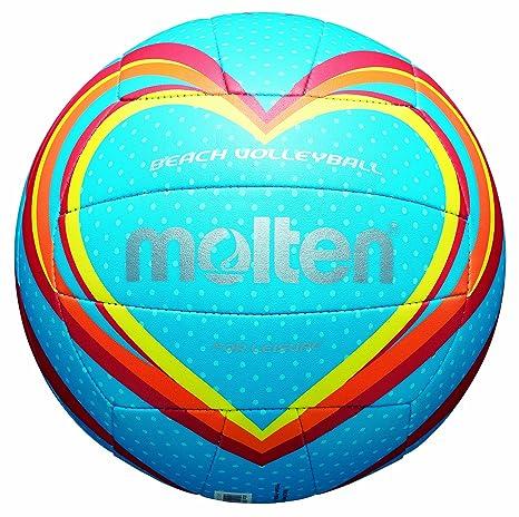 MOLTEN Volleyball - Balón de voleibol para exterior, color azul ...