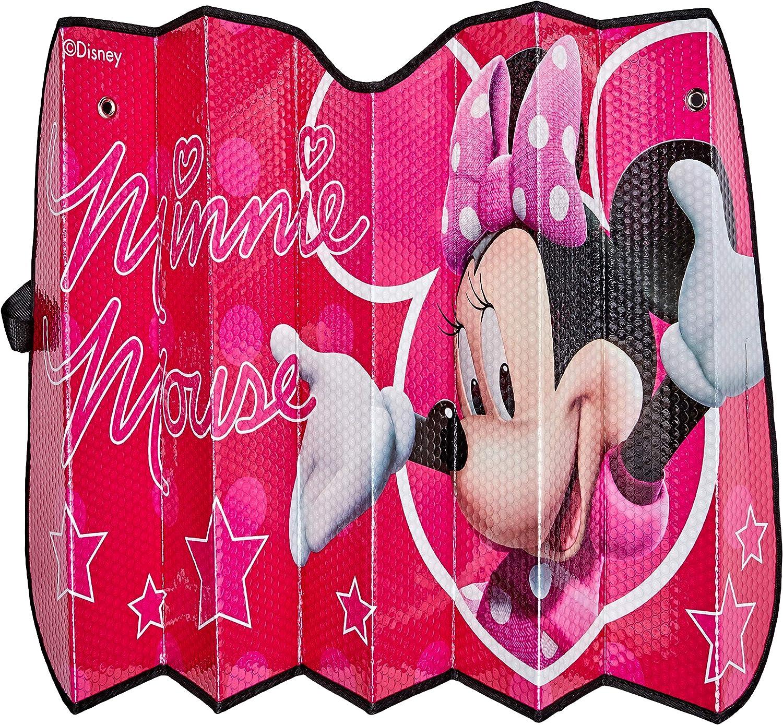 Minnie Spain MINNIE114 Parasol de Aluminio Rosa Mouse ventosas 130 x 70 cm y Universal