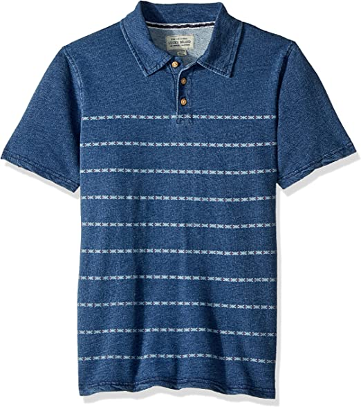 Lucky Brand Boys Short Sleeve Polo Shirt