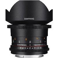 Samyang SYDS14M-C VDSLR II 14mm T3.1 Wide-Angle Cine Lens for Canon EF Cameras,Black