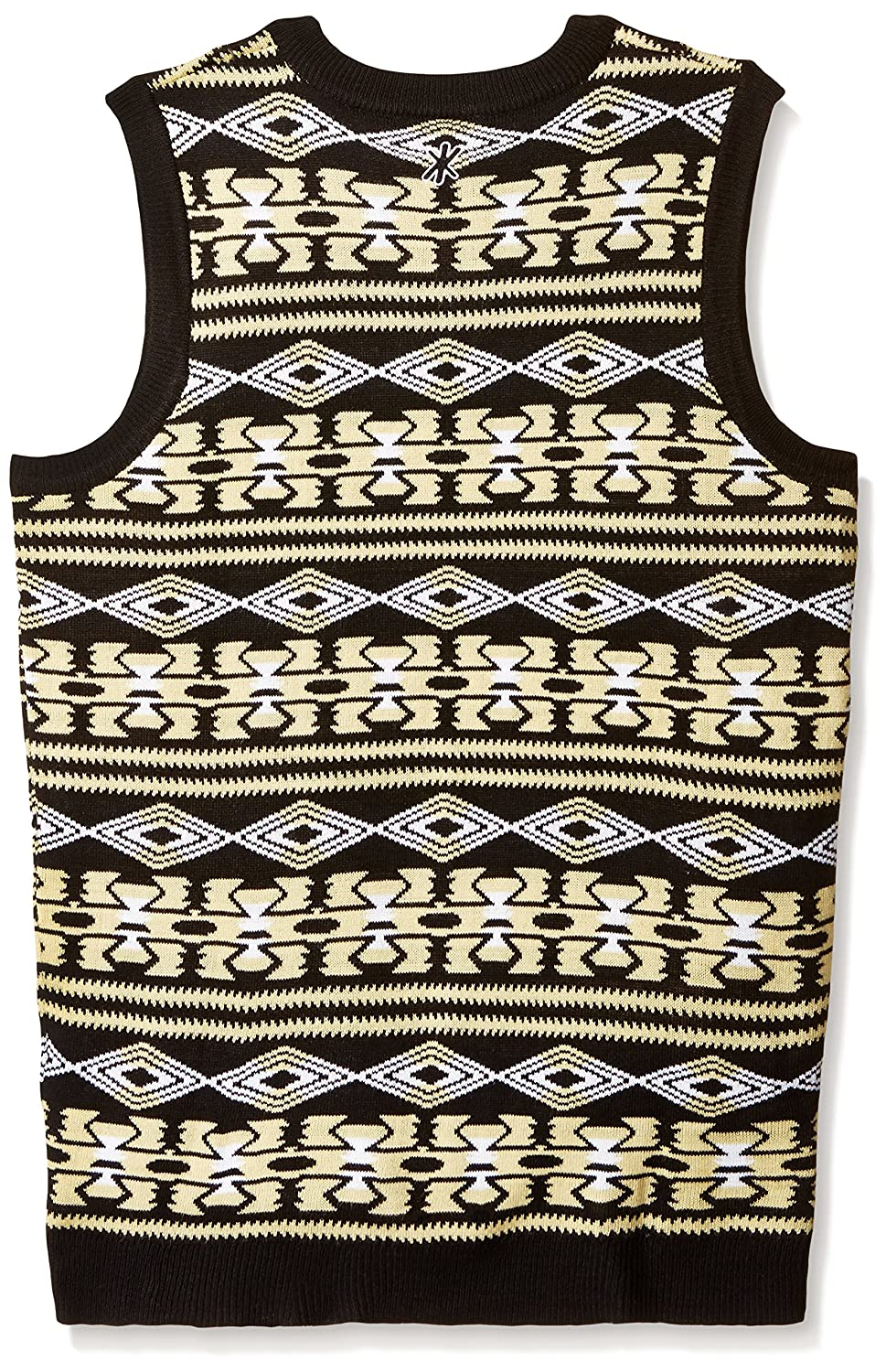 847fafe39 Klew Buffalo Bills Mens NFL Aztec Print Ugly Sweater Vest Christmas gift  store