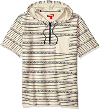 0268f14c8 Amazon.com: UNIONBAY Men's Short Sleeve French Terry Pullover Hoodie ...