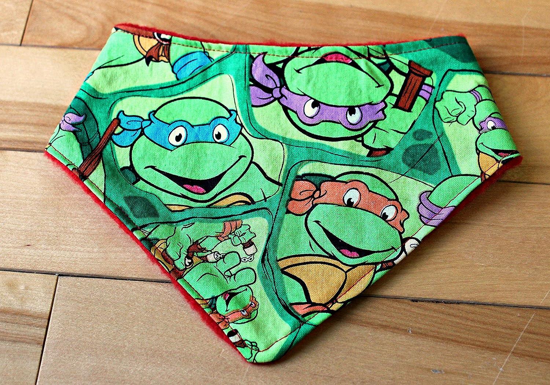 Amazon.com: Bandana Bib Teenage Mutant Ninja Turtles: Handmade