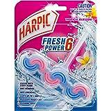 Harpic Fresh Power Toilet Block Cleaner Tropical Blossom, 39g