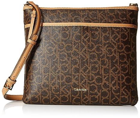 138464c455 Calvin Klein Women s Lily Large Crossbody Bag