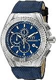 Technomarine Men's TM-115174 Cruise BlueRay Analog Display Quartz Blue Watch